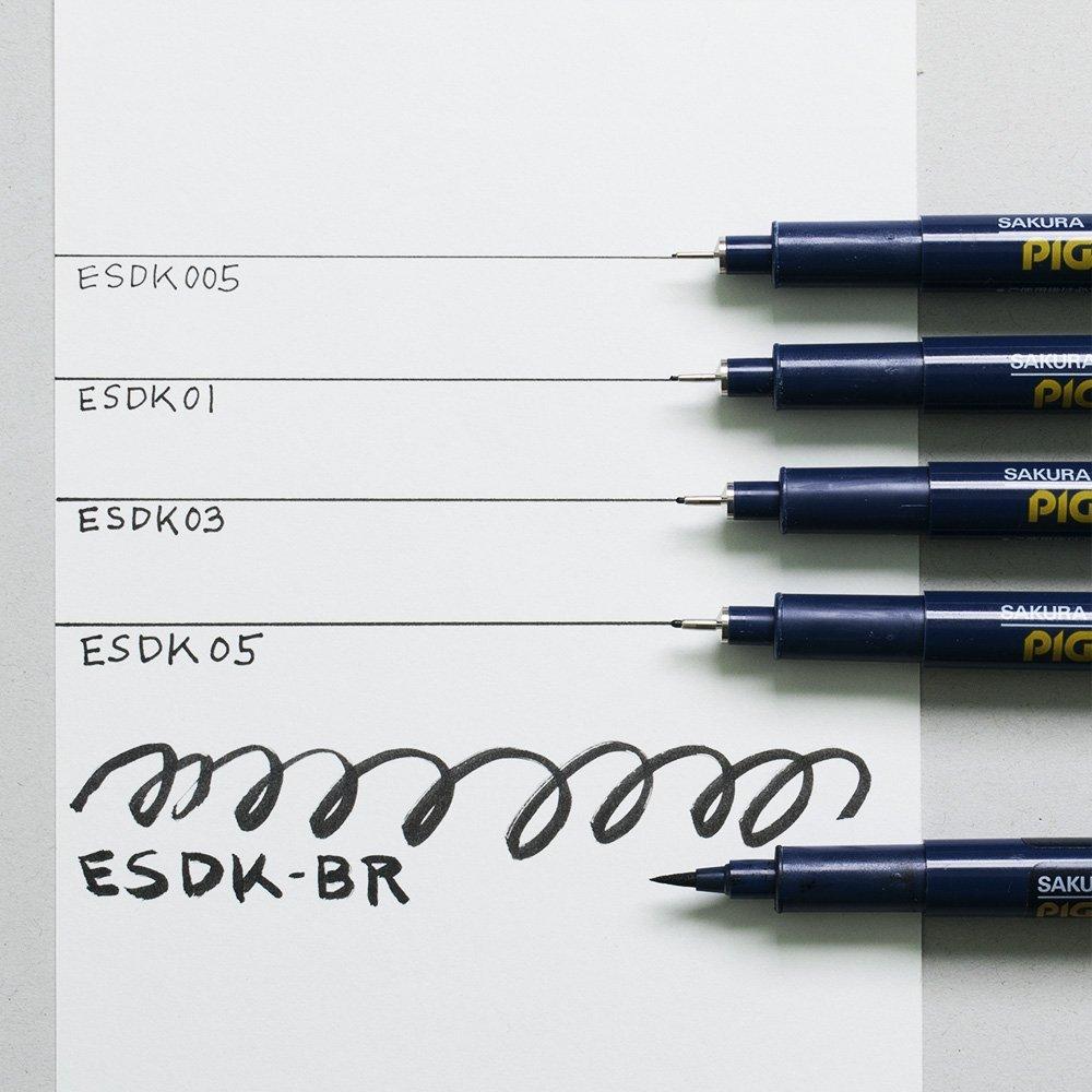 Pigma Micron 03 Black ESDK03#49 Sakura Pigment Ink Pen