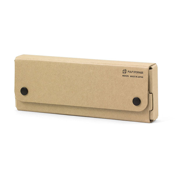 Pasco Paper Pen Case Beige Kawaii Colors